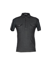 Novemb3r Polo Shirts Dark Green