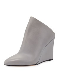 Vail Leather Wedge Mule Truffle Vince