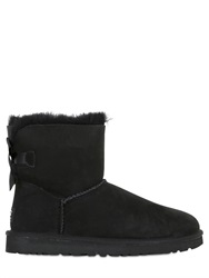 Ugg Australia Mini Bailey Bow Shearling Ankle Boots
