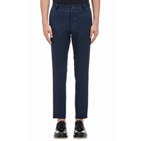 Thom Browne Twill Chino Trousers Navy