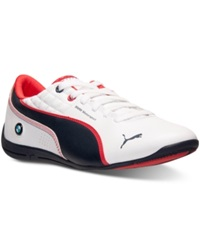 Puma Men's Drift Cat 6 Bmw Casual Sneakers From Finish Line White Bmw Blue Red
