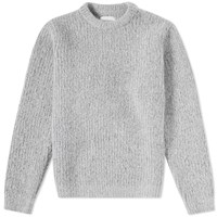 Norse Projects Arild Brushed Alpaca Crew Knit Grey