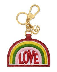 Gucci Love Rainbow Key Chain Multi