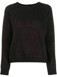 Twin Set Round Neck Jumper Black