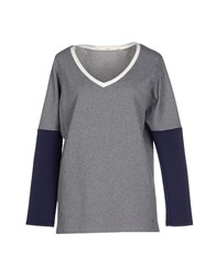 Sakura Topwear Sweatshirts Women Grey