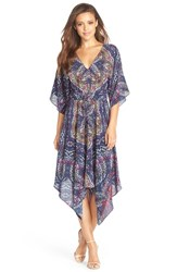 Women's Charlie Jade Print Silk Caftan Dress