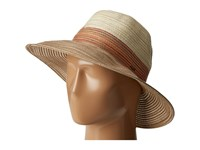 Scala Tri Tone Poly Braid Safari Spice Safari Hats Red