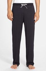 Men's Daniel Buchler Silk And Cotton Lounge Pants Midnight