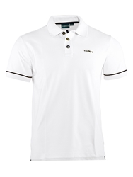 Chervo Audrey Plain Regular Fit Polo Shirt White