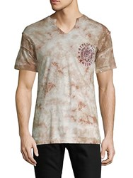 Affliction Torque Graphic Accented Cotton Tee Multi