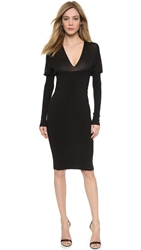 Wgaca Gucci Long Sleeve Dress Black