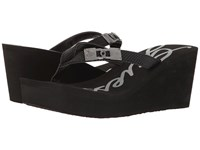 Guess Sahari Black Women's Wedge Shoes