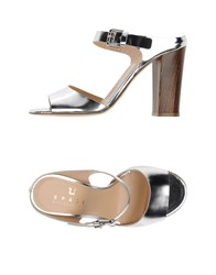 Space Style Concept Footwear Sandals Women Silver