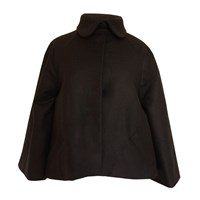 Etrala London Wool Swing Jacket Black