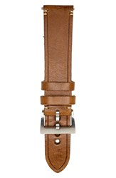 Men's Jack Mason Brand Leather Strap 22Mm Brown