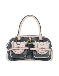 Just Cavalli Handbags Dark Blue