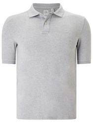 Dockers Bidseye Polo Shirt Cool Grey Heather