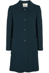 Goat Wade Wool Coat Blue
