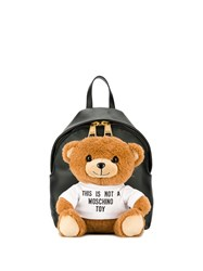Moschino Teddy Bear Backpack Black