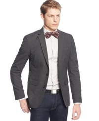 Bar Iii Charcoal Neat Slim Fit Evening Jacket