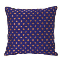 Ferm Living Salon Cushion 40X40cm Mosaic Blue