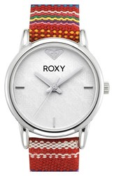 Women's Roxy 'The Huntington' Canvas Strap Watch 28Mm