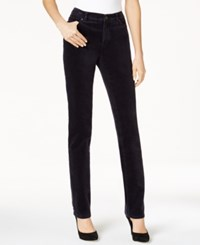 Charter Club Lexington Corduroy Straight Leg Pants Only At Macy's Deepest Navy