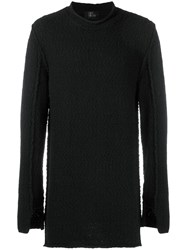 Lost And Found Ria Dunn Longline Sweater Black