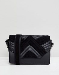Pimkie Quilted Cross Body Bag Black
