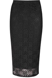 Alice And You Lace Pencil Skirt Black