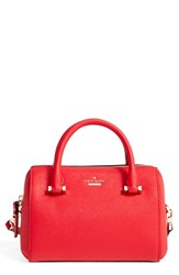 Kate Spade New York Cameron Street Lane Leather Satchel Red Red Rooster