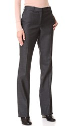 Salvatore Ferragamo Boot Cut Trousers Granito