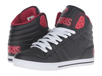 Osiris Clone Black Red Red Men's Skate Shoes