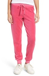 Juicy Couture Women's Zuma Velour Track Pants