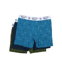 Original Penguin 3 Pack Boxer Brief Sea Navy Chive Men's Underwear Multi