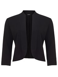 Gerry Weber Cropped Jersey Jacket Black