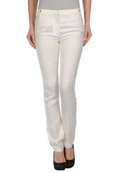 Peter Som Casual Pants White