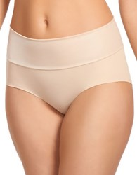 Jockey Slimmers Matte And Shine Shaping Brief Light
