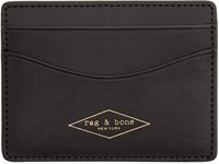 Rag And Bone Black Hampshire Card Holder