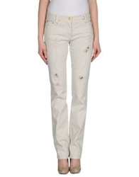 Roccobarocco Denim Pants Light Grey