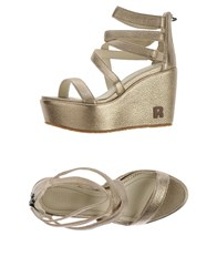 Ruco Line Footwear Sandals Women Bronze