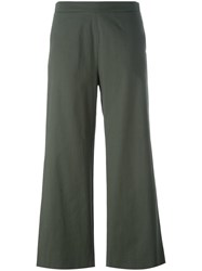 Fabiana Filippi Cropped Trousers Green