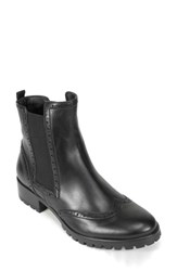 Women's Summit By White Mountain 'Breanne' Chelsea Boot Black Leather
