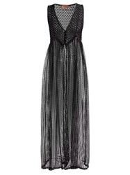 Missoni Mare Mesh Cover Up Black