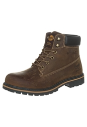 Dockers By Gerli Laceup Boots Cafe Brown