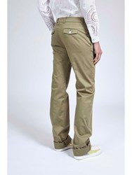 Alexis Mabille Cotton Regular Pants Neutral