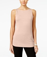 Inc International Concepts Boat Neck Tank Top Only At Macy's New Pale Blush