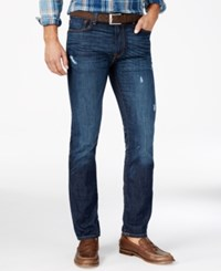 Tommy Hilfiger Men's Vessel Slim Fit Dark Blue Jeans