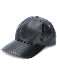Ami Alexandre Mattiussi Cap With Patch Black