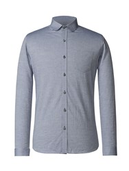 Gibson Men's Blue Penny Round Shirt Blue